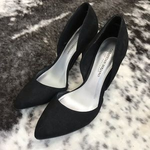 Christian Siriano Shoes - Christian Siriano for Payless black suede pumps
